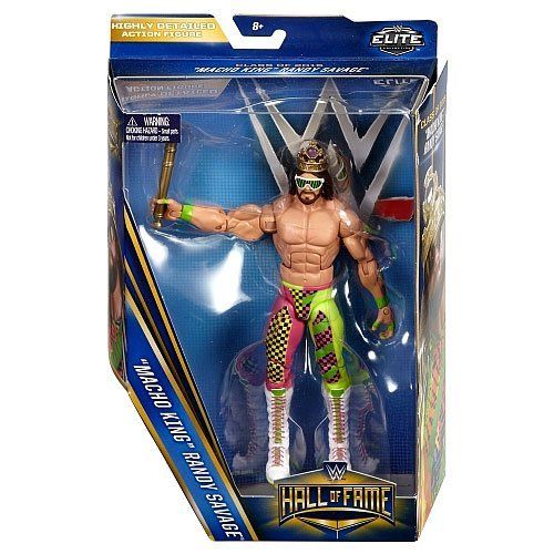 WWE Wrestling Elite Collection Hall of Fame Randy Savage 6 Action Figure Macho King