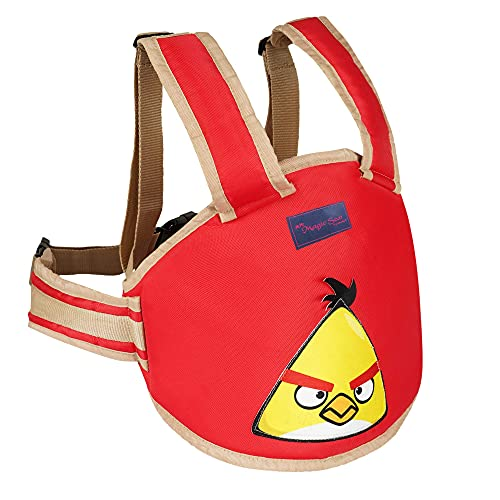 Magic Seat- Two Wheeler/Bike/Scooter Child/Kids Safety Seat Belt/Kids Carrier Protection When Travelling on Two Wheeler (Red-Angry Bird)