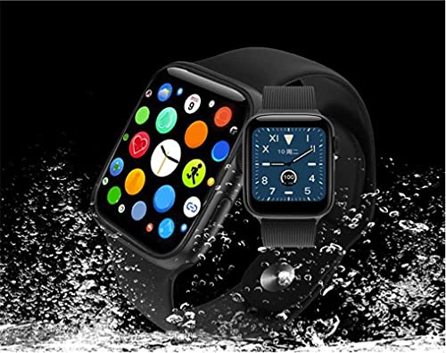 Feather IProS4 Series Smart Watch for iOS / Android with Voice Calling Function, Heart Rate Monitor, Fitness Tracker, Pedometer, Reminders, Sleep Monitor, touchable Display.
