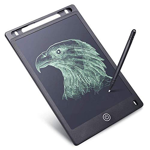 Qualimate Tablet for Kids Writing Pad Slate for Kids Electronic LCD Writing Tablet for Kids 8.5 Inch New Gadget Gift for Kids (Assorted Color)