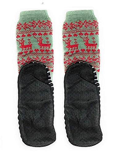 Nyamah Sales Men's Wool Adult Long Thick Thermal Winter Warm Hiking Slippers/Boot Socks (Multicolour, Free Size)