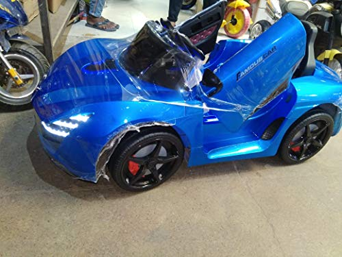 Gomani 'Ferrari Red Kids Toy Car with Rechargeable Battery Operated Ride On