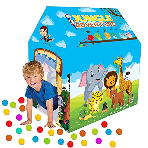 Webby Jungle Kids Play Tent House without Balls for Girls and Boys Toy Home