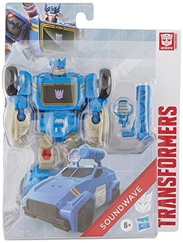 Transformers Soundwave Action Figure (7 Inches, Multicolor),or Kids Ages 6 and Up