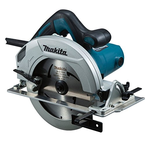 Makita HS7600 Powerful 1,200 Watt 185 mm Blade Diameter Circular Saw With Single Action Lever For Quick Adjustment Of Cutting Depth