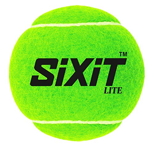 Sixit Lite Cricket Tennis Ball - Pack of 6