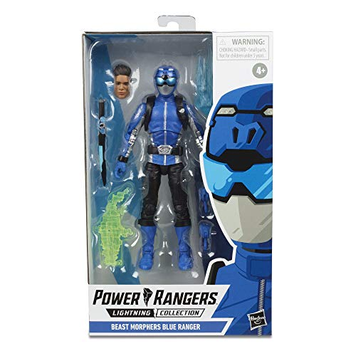 POWER RANGERS Beast Morphers Blue Ranger, For Kids Ages 4 and Up