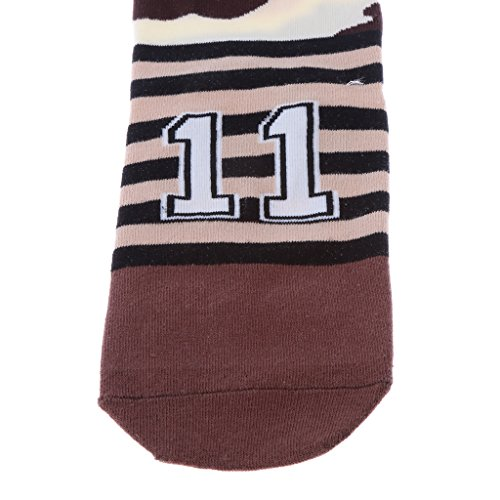 HEAVY DRIVER® Couple Pure Cotton Coloured Mid Calf Ankle Crew Short Socks New Style 3