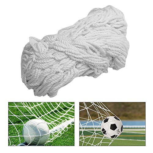 TOPINCN Soccer Net Durable Soccer Goal Nets Sports for Lacrosse and Soccer (6X4foot,8X6foot,12X6foot,24X8foot)(6X4FT)