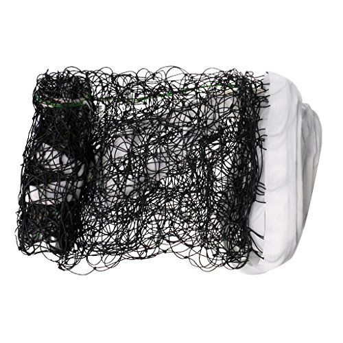 Anbau Portable Standard Official Size Volleyball Net Outdoor Indoor Beach Mesh for Training with Storage Bag