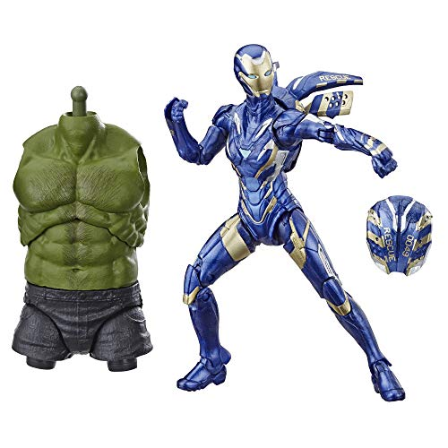 Marvel Legends Series Avengers: Endgame Marvel's Rescue 6-inch Collectible Action Figure Toy For Ages 6 and Up with Build-A-Figure Part
