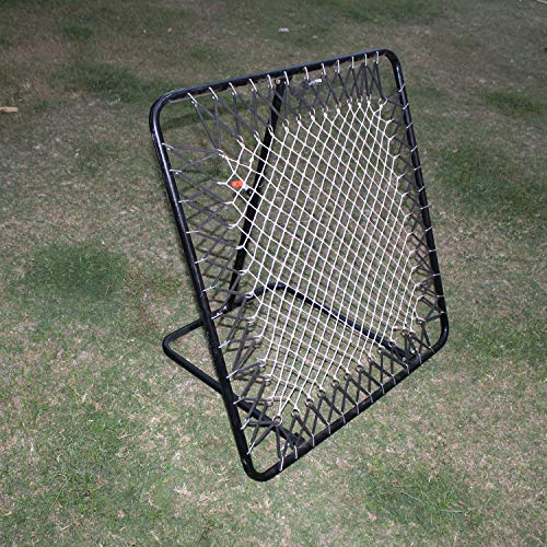 Roxan Football Rebounder, Football Training Net, Adjustable Soccer, Other Balls Target Goal for Kids Children to Practice Kickback, Play Games in Playground and Backyard, Throwing PRACTICES Trainer
