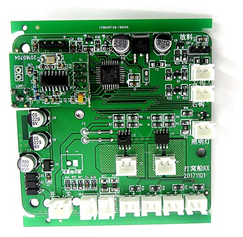 Generic Flytec 2011-5 Generation Fishing Bait Rc Spare Parts Boat Hull Circuit Board 2011-5.010