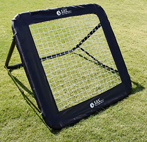 SAS SPORTS REBOUNDER with Contour Cover for Football Cricket Training Practice Baseball Softball