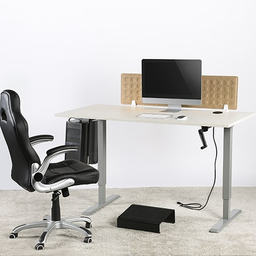 height adjustable desk and table